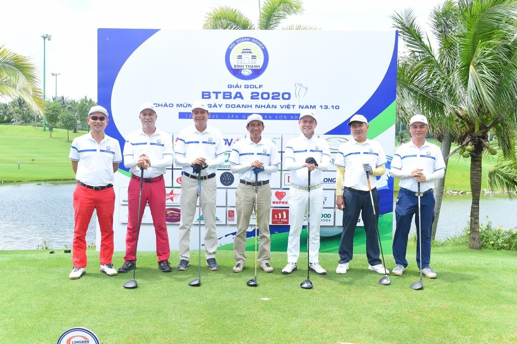 Những gương mặt tiêu biểu của giải golf