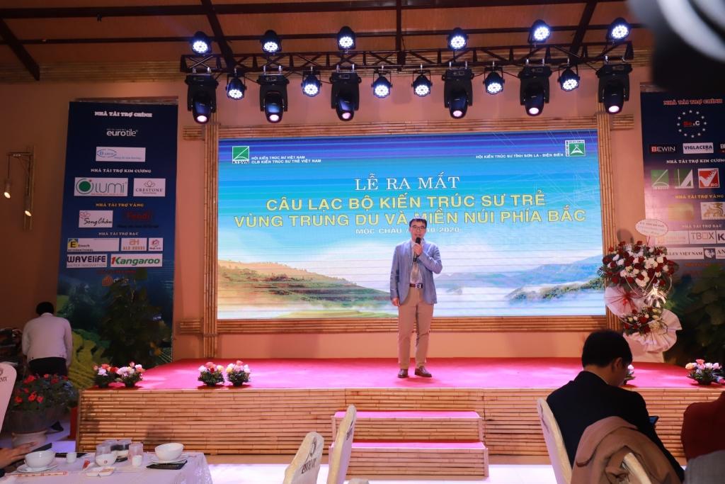 TS. KTS Phan Đăng Sơn – Chủ tịch Hội KTS Việt Nam đã có phát biểu khai mạc chương trình