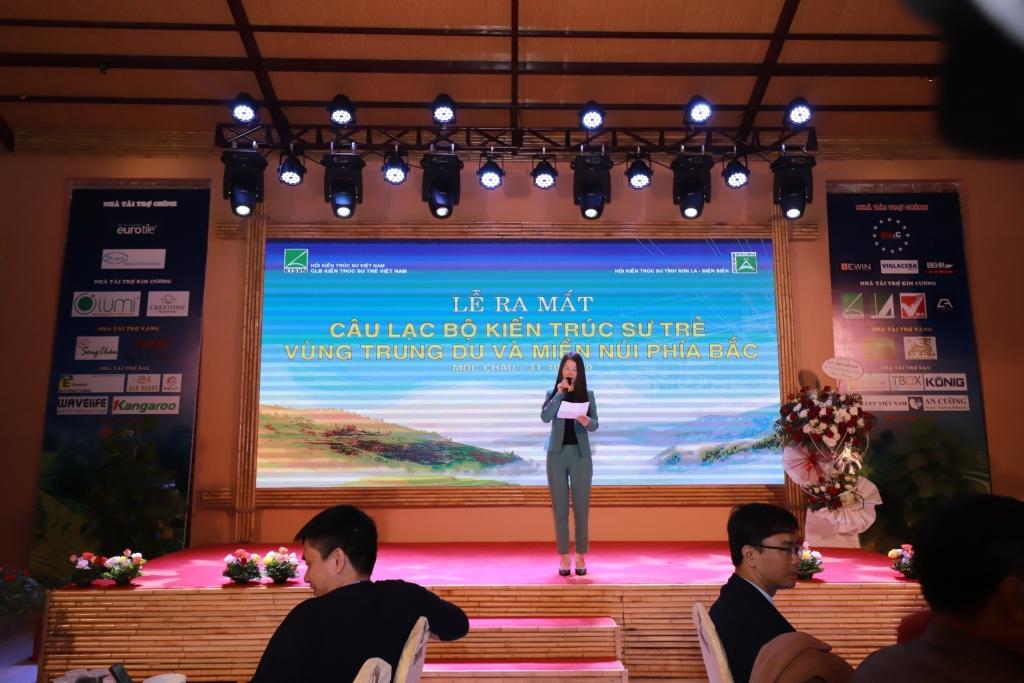 KTS Đỗ Thị Thanh Nga – Tân chủ nhiệm CLB KTS Trẻ Trung du và Miền núi phía Bắc