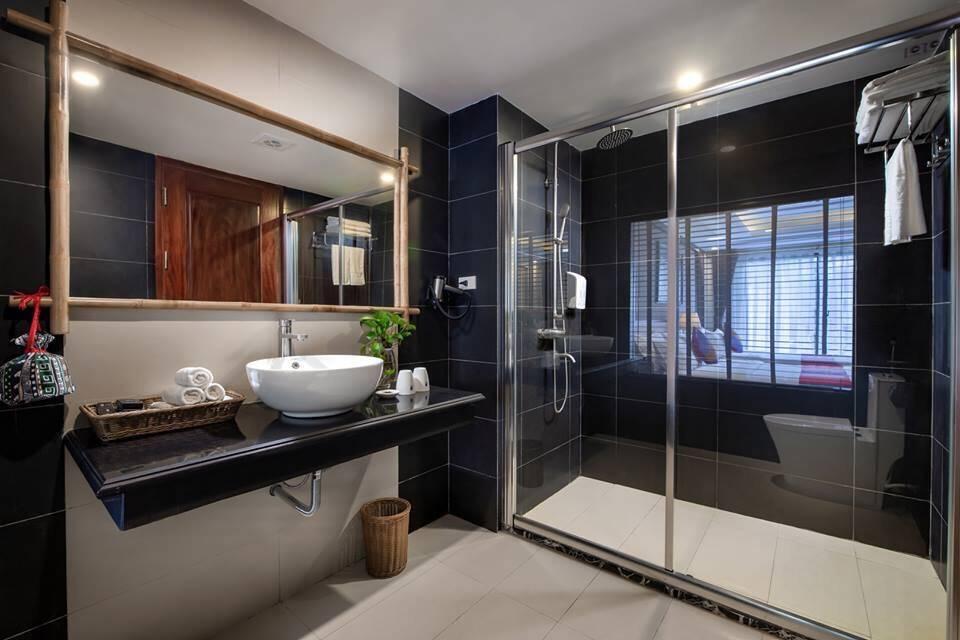 Xu hướng phân chia phòng tắm thành 2 khu vực khô - ướt riêng biệt