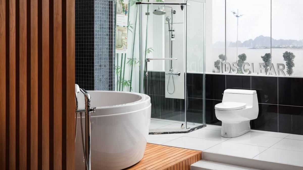 Phòng tắm kính Fendi phù hợp với nhiều phong cách thiết kế khác nhau