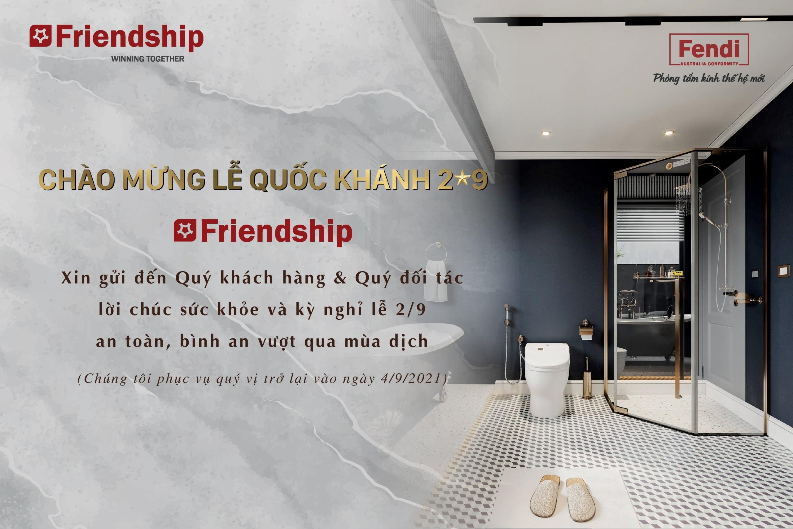 Friendship chúc mừng Lễ Quốc Khánh 2/9